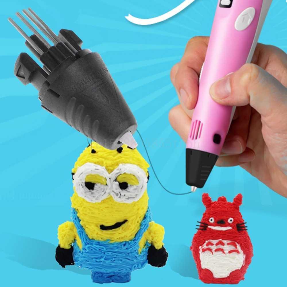 מדפסת עט מזרק ראש זרבובית לדור ראשון 3D הדפסת עט חלקי