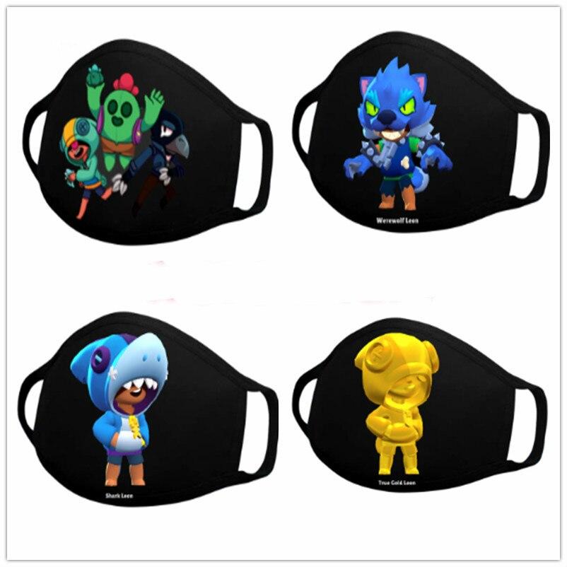 Новый Драк звезды маски для лица, рта, длинные, хлопковые пыле Leon маска для лица Многоразовые моющиеся Косплэй печатных для взрослых и детей ...
