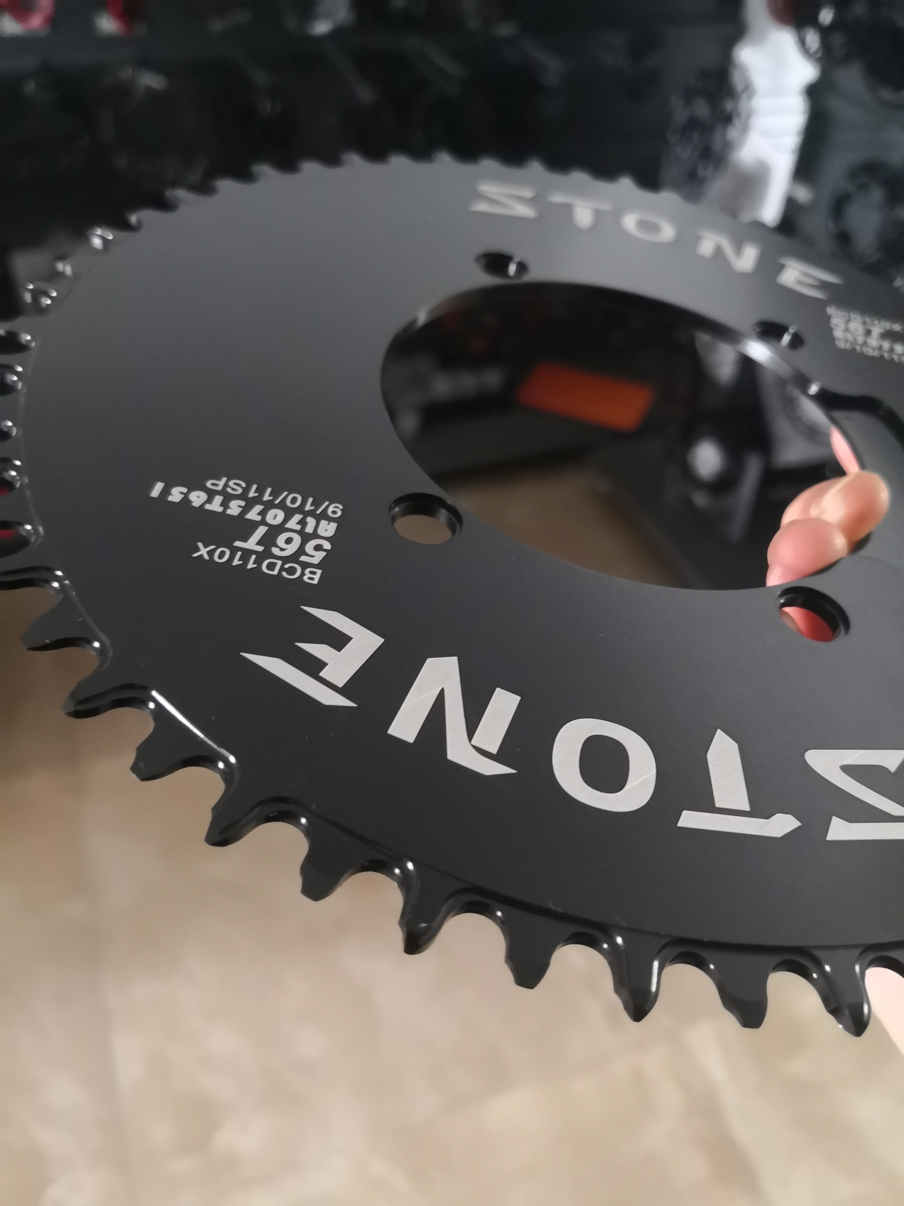 60T Narrow wide Circle Chainring BCD110 for SHIMANO 5800 FC-6800 4700 9000 34T