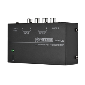 Image 2 - Hot 3C Ultra Compact Phono Preamp Preamplifier With Rca 1/4Inch Trs Interfaces Preamplificador Phono Preamp(Eu Plug)