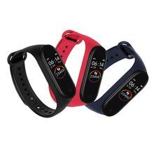 Умный Браслет M4, водонепроницаемый шагомер, монитор сердечного ритма, спортивные часы для здоровья, счетчик шагов, трекер, фитнес-браслет, низкая Версия
