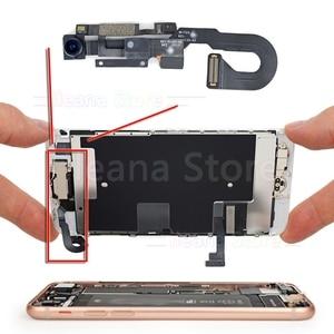 Image 4 - Cámara frontal pequeña flexible para iPhone X, Xs, Max, XR, 7, 8 Plus, Cable flexible, Sensor de proximidad de luz, sin identificación facial