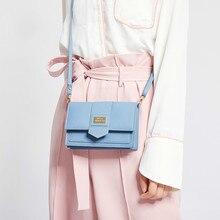 Bags For Women 2019 New Korean Style Mini Pink Ladies Bag Hasp Student Shoulder Bag PU Leather Girls Messenger все цены