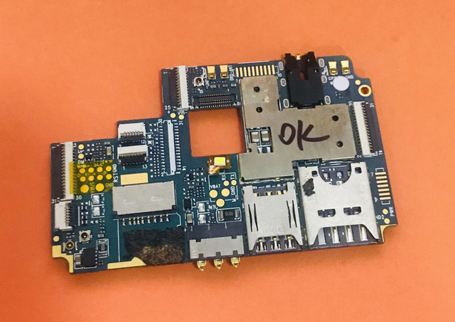 Homtom s7 mtk6737 쿼드 코어 용 메인 보드 3g ram + 32g rom 마더 보드 무료 배송