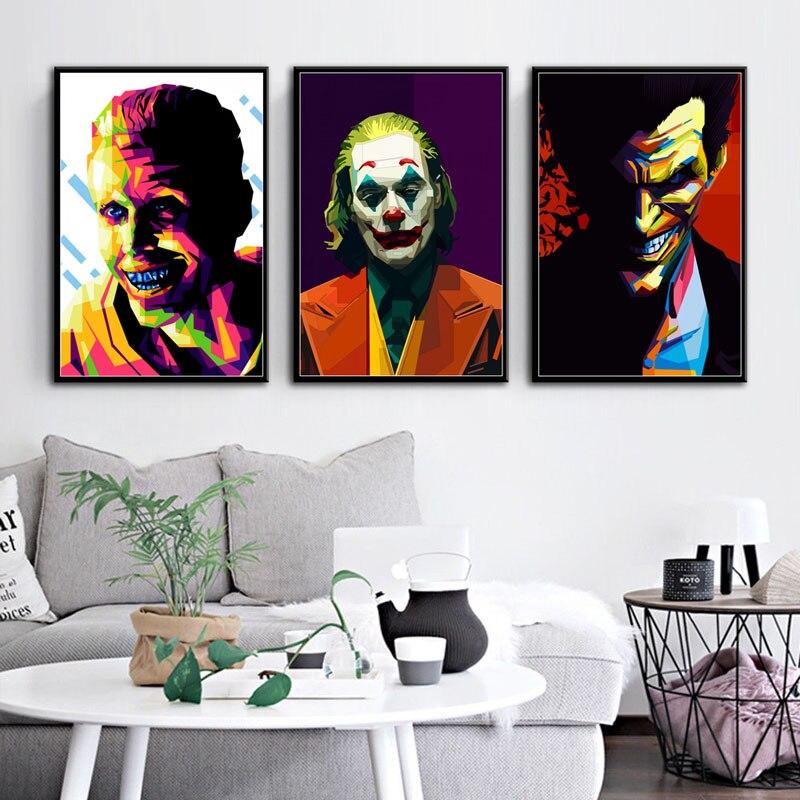 P574-Pop-Art-Batman-Movie-Anime-Joker-Art-Painting-Silk-Canvas-Poster-Wall-Home-Decor