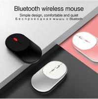Bluetooth 5.0 + 2.4G Mouse Senza Fili Ricaricabile Dual Mode 2 In 1 mini Portatile Silenzioso Mouse Ottico Ricevitore USB per il Computer Portatile Del PC