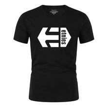 2019 20 Colors Etnies printed T Shirt Mens 100% cotton T-shirts Summer Skateboard Tee Boy Skate Tshirt Tops plus size XS-2XL цена