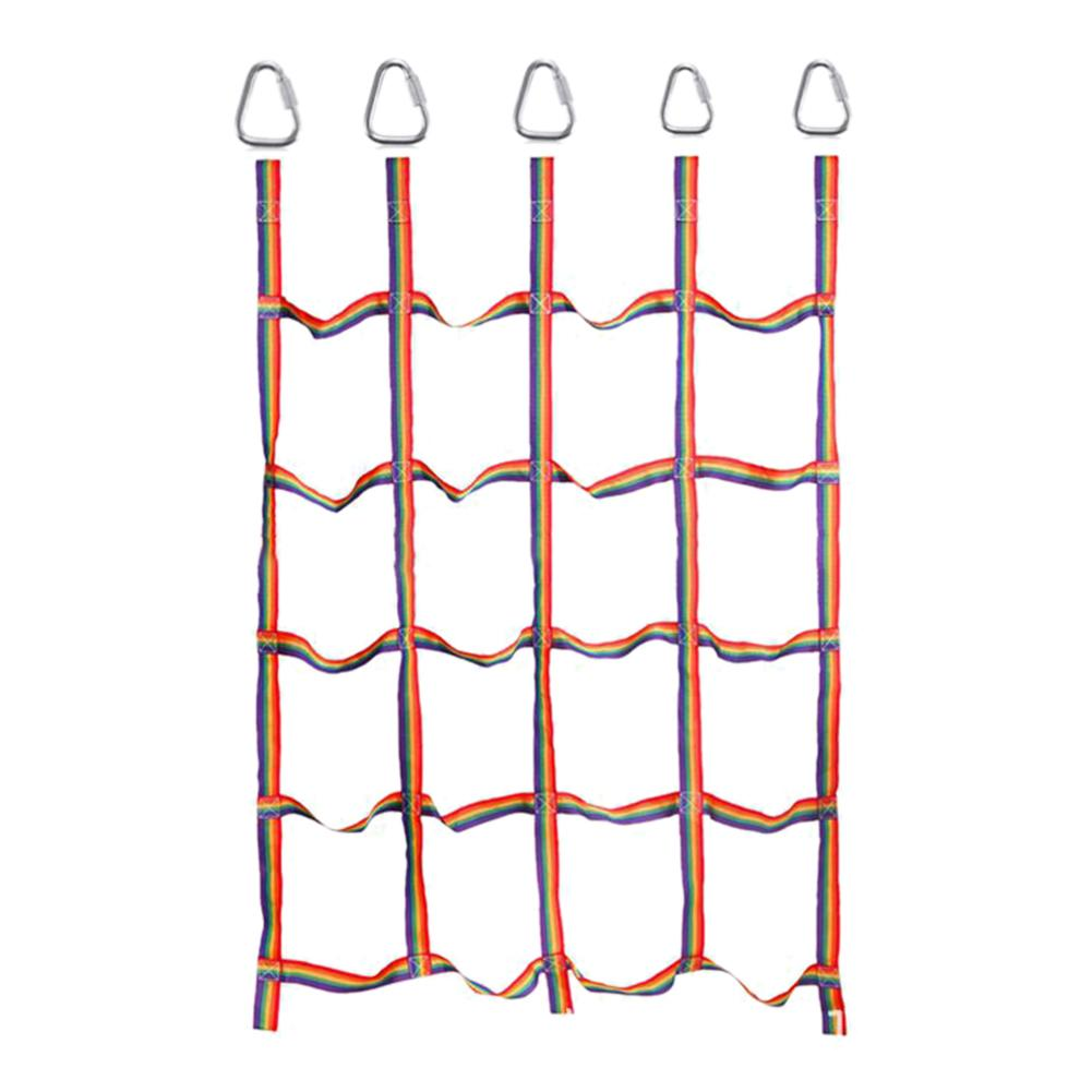 Training Climbing Net Outdoor Kids Playground Children Climb Protective Safety Nets Extended Training Climbing Walls Rope Net