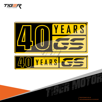 For BMW F700GS F800GS F850GS G310GS F650GS R1200GS R1250GS Decals 40 Years GS Decals image
