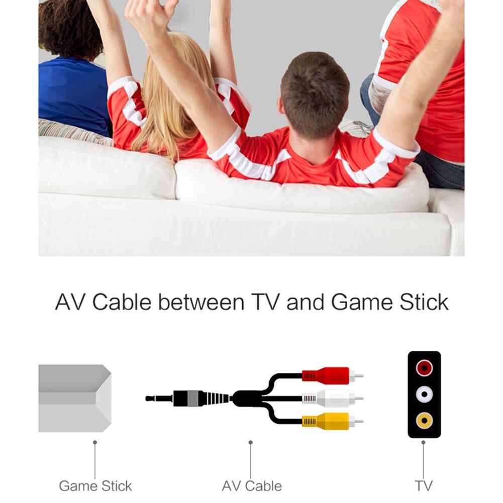 Retro Mini TV video game console 8 bit Handheld game player AV port children video game console built-in 560/600 classic games