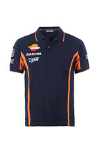 Free shipping Moto gp Repsol Gas Motorcycle Summer T-shirt For Honda Polo Shirt Racing Motorbike Motorcycle(China)