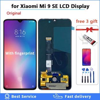 100% tested AMOLED Original LCD For xiaomi Mi 9 Mi9 SE Display for xiaomi 9 LCD Touch Screen Digitizer Assembly with gift mi9se 6 39amoled for xiaomi mi 9 lcd mi9 display digitizer assembly touch screen m1903f replacement xiaomi mi9se lcd mi 9 mi9 se