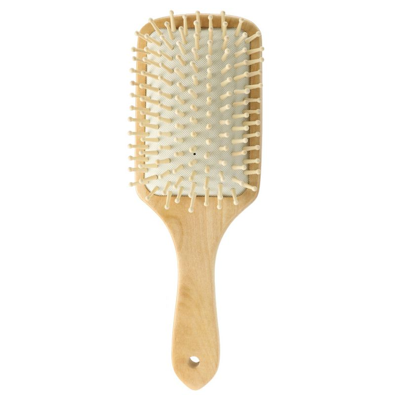 Wooden Hair Comb Natural Wooden Larger Handle Hair Comb Airbag Massage Comb Tangled Hair Comb Maquiagem