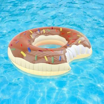 Bouée gonflable à donuts, flotteur de piscine, boule d'eau, canapé d'été, matelas à Air, anneau de natation 1