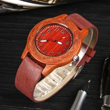 2020 Top Brand Luxury Men Watch relogio masculino Black Unisex Wood Wat