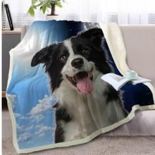 Drop Shipping Cartoon Throw Blanket 3D Printed Plush Velvet Sofa Soft Sherpa Fleece Coral Microfiber Couch Cover Manta