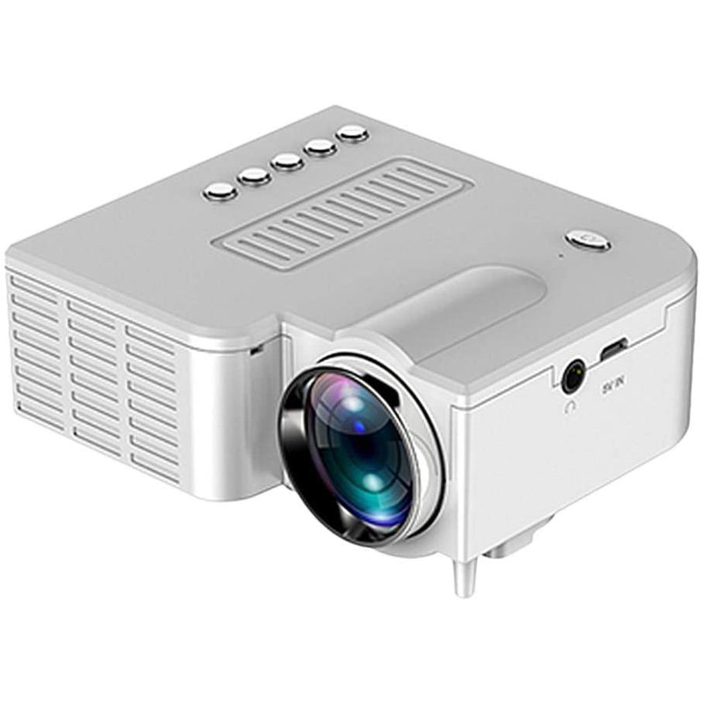 UC28 1080P Home Cinema Movie Video Projector LED Mini Projector Video Beamer Support 4K Video U Disk TF Card STB