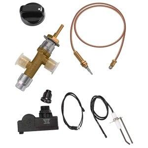 Комплект предохранительных клапанов для камина, комплект с нажимными кнопками зажигания для газового гриля, обогревателя, сжиженного угле...