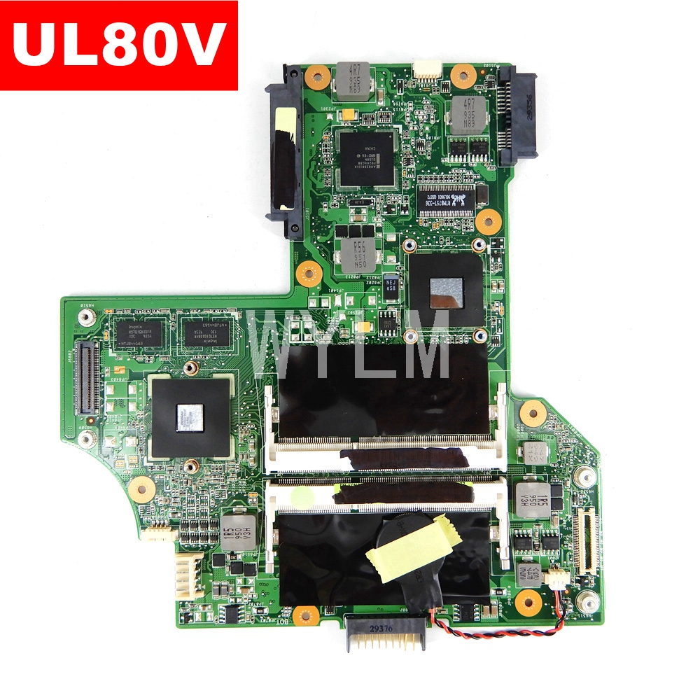 UL80V Mainboard REV2.0 For ASUS UL80V Laptop Motherboard 100% Tested Free Shipping