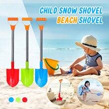 Snow-Shovel Sandbox-Set-Kit Summer Toys Kids Children's with Stainless-Steel Handle