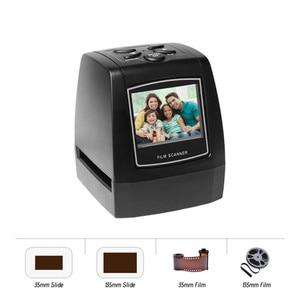 Fast Delivery! 5MP 35/135mm Negative Film Scanner Negative Slide Photo Film Converts USB Cable LCD Slide 2.4