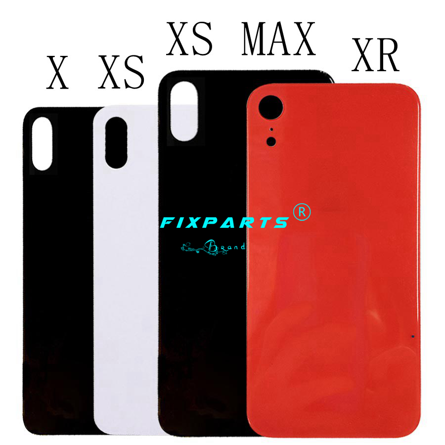 iPhoneX XS MAX Back Battery Cover Rear Door Housing Case Middle Chassis Replacement