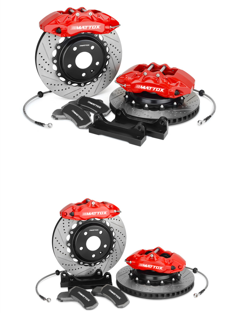 Mattox Car Brake Kit System Aparts Grind Disc Big Caliper for Audi Q5 2008 Front Wheel 17-20inch