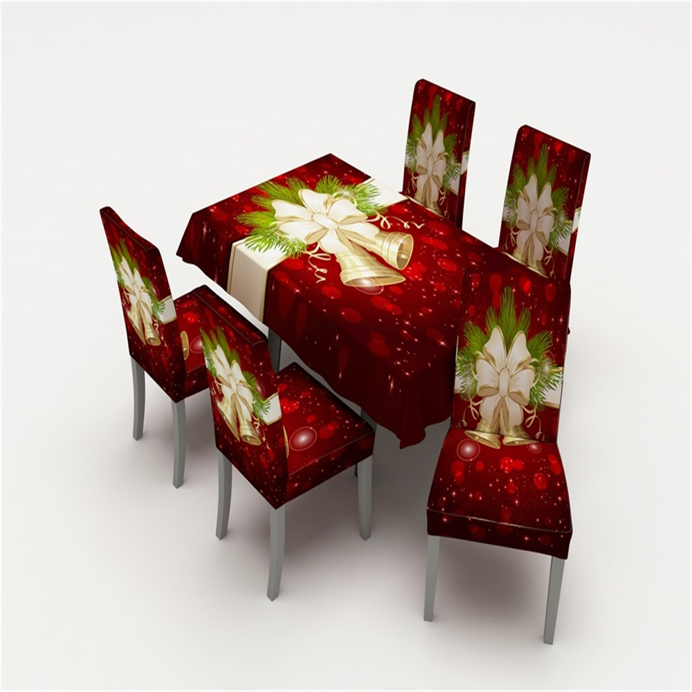 Slipcovers A Dining Chair Slipcovers Merry Christmas Spandex ...