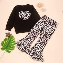 Повседневные комплекты с блузкой осенняя одежда для девочек
