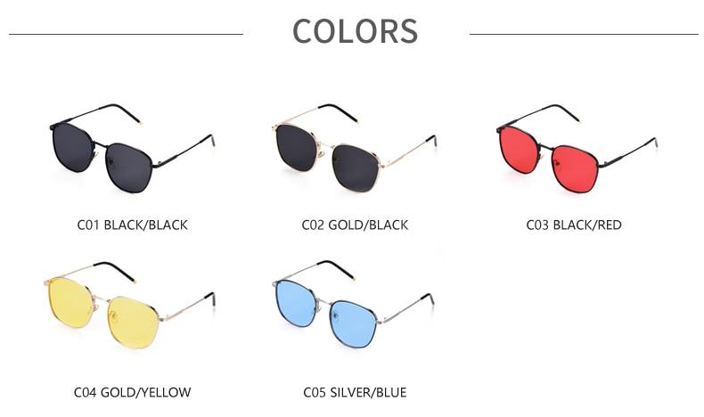 Les femmes surdimensionnées yeux de chat lunettes de soleil Retro Shade bon r