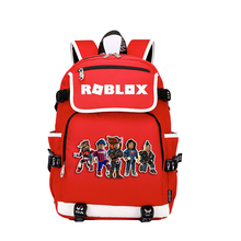Fashion Large USB Charge Student Schoolbag Cartoons Capacity Canvas Laptop Backpack Teenager Girls Letters Printed School Bag