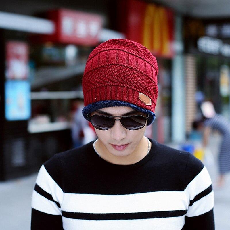 Q 2021 Women Men Winter Supplies Knitted Hat Neckerchief  Fashion Woolen Yarn Beanies Fashion Keep Warm Adult Ski Cap