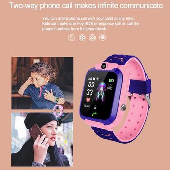 2020 Kids Horloges Sos Gps/Lbs Locatie Multifunctionele Smart Watch Waterdichte Smartwatch Voor Kids Voor Ios Android Kids Smart 2