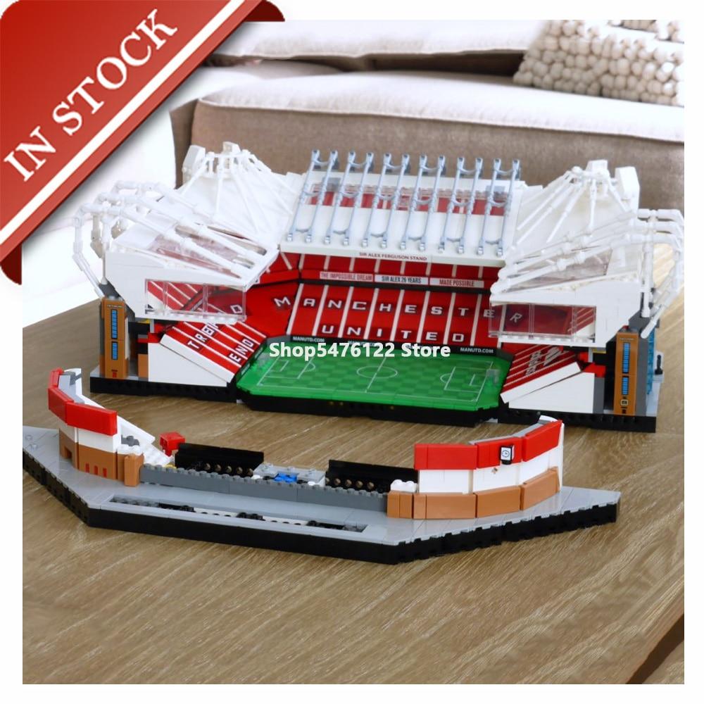 Old Trafford - Manchester United Ideas 10272 In Stock Building Blocks 3908PCS City Creator Street View Model Bricks Toy