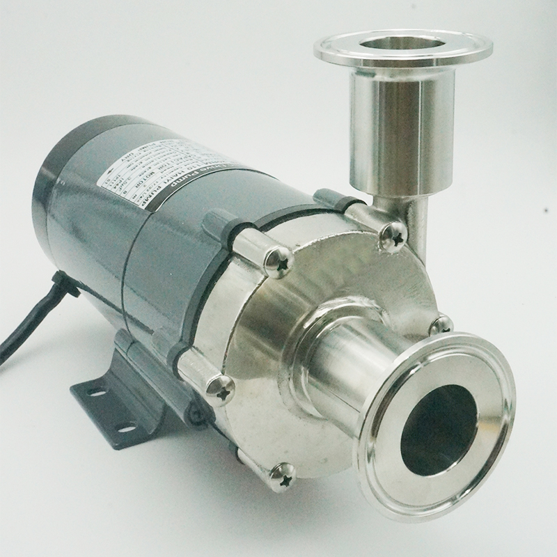Magnetic Drive Pump 15RM Homebrew Pump With Clamp 50.5mm Brewing Pump With 304 Stainless Steel Head Homebrew With Plug