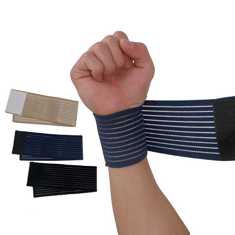 1Pcs Adjustable Support Gym Strap Protective Wristband Knee Pad Sports Bondage Wrap Knee Pads Breathable Leg Protector