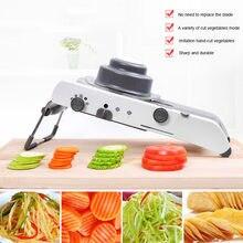 Mandoline vegetal cortador slicer manual ralador profissional com ajustável 304 lâminas de aço inoxidável ferramenta cozinha vegetal