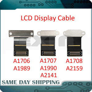 "Laptop A1706 A1707 A1708 A1989 A1990 A2141 A2159 LCD LED LVDs Screen Display Cable for Macbook Pro Retina 13"" 15"" 2016-2020 Year(China)"