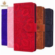 Luxury Mandala Pattern Flip Case For Samsung Galaxy A10S A20E A30 A40 A50S A51 A71 A81 A91 Leather Card Slots Stand Wallet Cover