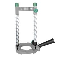 Electric Pipe Hand Drill Drilling Guide Holder Stand with Adjustable Angle Removable Handle DIY Woodworking tool|Power Tool Accessories|Tools -