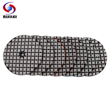 RIJILEI 7 Pcs 100mm dry polishing pad 4 inch Sharp type diamond pads For Granite Marble Sanding Disc Stone ZL30