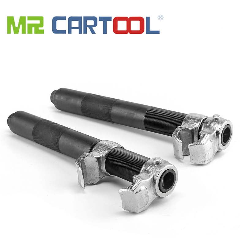 MR CARTOOL 2 Pcs/set Car Shock Absorber Spring Compressor Spring Disassembler Replacement Pressure Tool Two Claws Spring Device