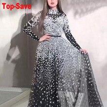 Hohe Qualität Abend Pailletten Kleider Immer Ziemlich O-ansatz Meerjungfrau Formale Kleider Frauen Elegante Party Outfit Kleider Lange Jurk 2020