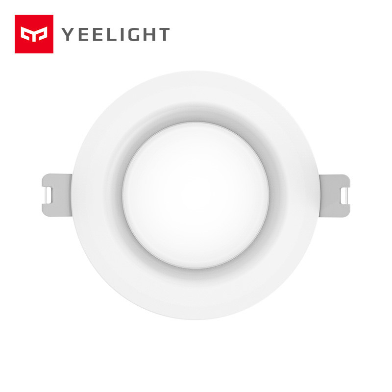 Image 2 - Original xiaomi mijia yeelight led downlight Warm Yellow Cold white Round LED Ceiling Recessed Light Not xiaomi smart home light-in Smart Remote Control from Consumer Electronics