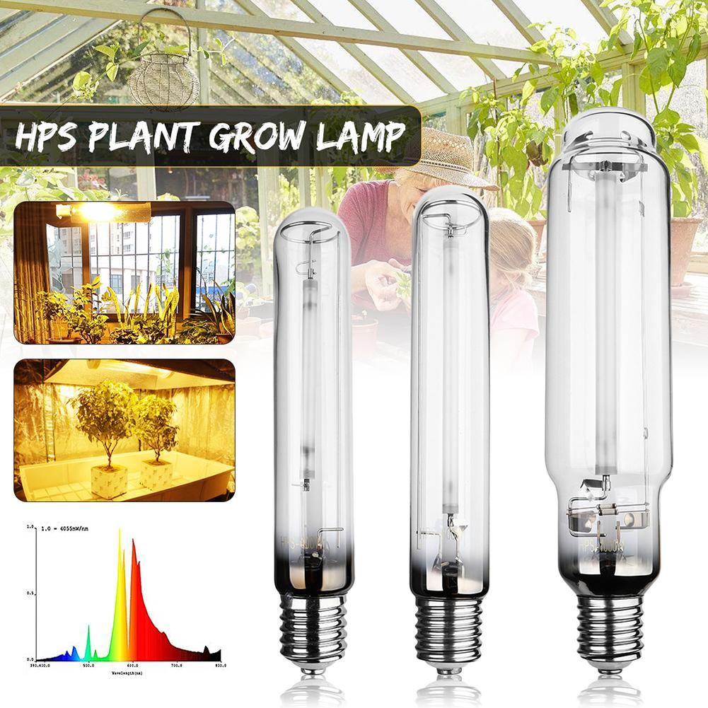 HPS Plant Grow Lamp Indoor Plant Growing Lamps Higth  E40 Grow Light Bulb Ballast Sodium Bulb Pressure 400/600W/1000W