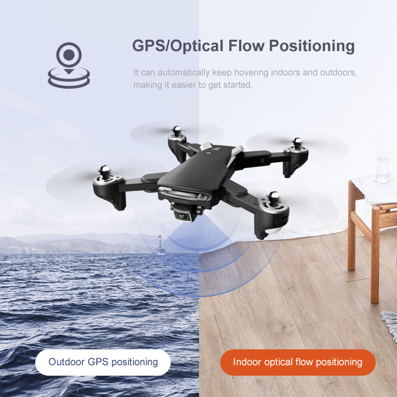 optical flow drone positioning
