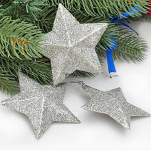 50Set Hanging Paper Star Festival Lampshade Paper Lantern Wedding Birthday Party DIY Hanging Decorations Christmas Ornaments(China)