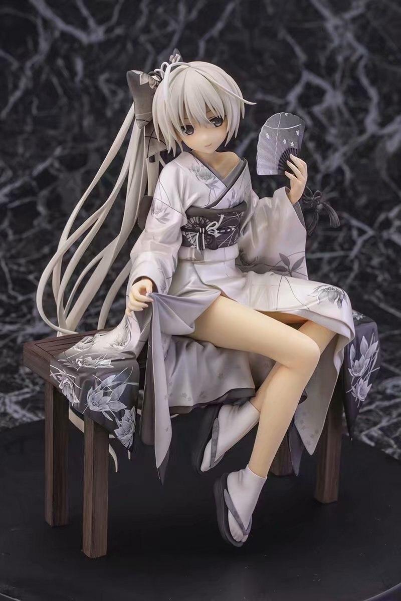 Anime Yosuga No Sora Kasugano Sora Kimono Ver PVC Figure Toy Gifts
