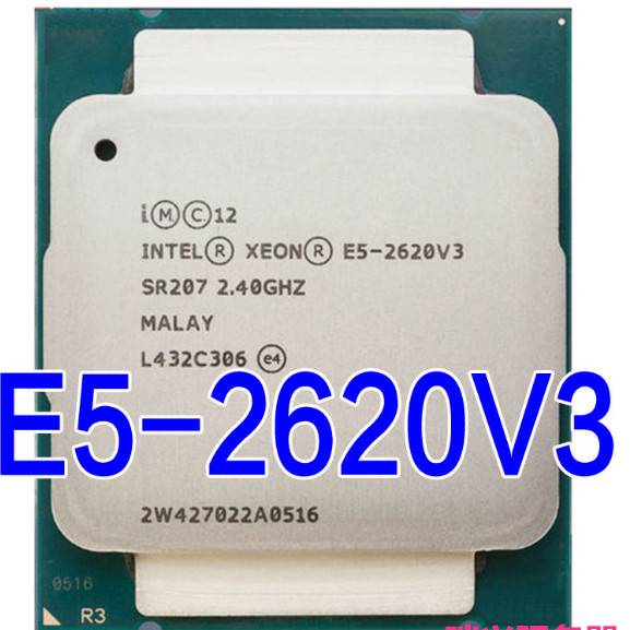 E5 2620 V3 LGA 2011 3 6 core SR207 2.4GHz 85W E5 2620V3 2620V3|CPUs| - AliExpress
