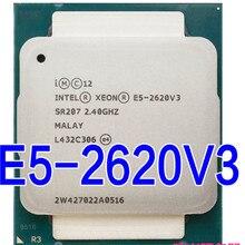 E5 2620 V3 lga 2011 3 6 コア SR207 2.4 2.4ghz 85 ワット E5 2620V3 2620V3